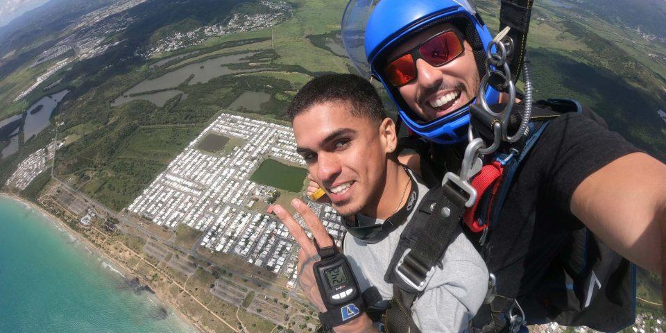 Tandem skydiving in Puerto Rico with La Zona Puerto Rico in Humacao